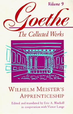 Wilhelm Meister's Apprenticeship By Goethe, Johann Wolfgang Von/ Blackall, Eric A. (EDT)/ Blackall, Eric A./ Lange, Victor